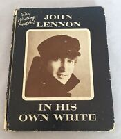 "1964 - John Lennon ""In His Own Write"" - Hardback Book - The Writing Beatle! 10th"