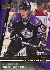 09/10 UPPER DECK YOUNG GUNS ROOKIE EXCLUSIVES ANDREI LOKTIONOV 025/100 *32506