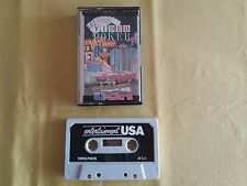 MSX Gioco Videogioco Cassetta Tape VIDEO POKER Vintage Retro GAME Videogame 1987