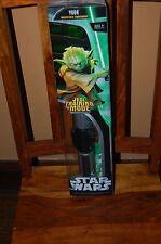 Yoda Jedi Training Mode Lightsaber Electronic-Star Wars Hasbro 2005