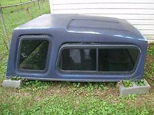 Leonard Fiberglass Pickup Truck Cap Camper Shell Top 1985 Chevy Chevrolet GMC