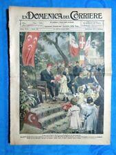 La Domenica del Corriere 18 dicembre 1921 Fuad I Egitto - Dublino - Giorgio V