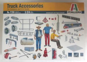 Italeri Camion Accessoires, Pour Européen Et US Camions en 1/24 720 St (A)