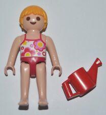 553028 Niña bañador playmobil playa beach piscina