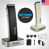 Men Cordless Electric Rechargeable Hair Clipper Trimmer Beard Shaver RazoHICA