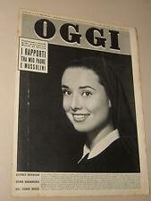 OGGI=1958/4=AUDREY HEPBURN=ANNALITA MARSIGLI=IGNAZIO TORRACA=ANITA CERQUETTI=