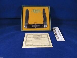 Remington 1988 Silver Bullet Muskrat Knife 1st Edition Mint Factory Box SN# 3936