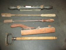 5 Primitive Tools Horse Tooth Floating Files Sharpening Stone & Other LQQK!