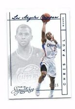 Chris Paul 2013-14 Panini Signatures, (Blue), 13/15 !!