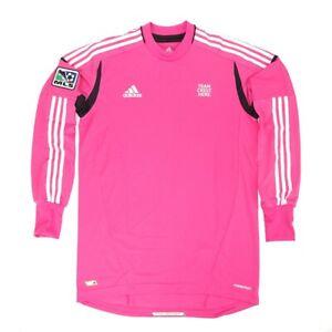 MLS Adidas Men's Pink Long Sleeve Climacool Goalkeeper Jersey