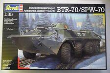 REVELL 1:35 KIT CARRO ARMATO VEICOLO CORAZZATO FANTERIA BTR-70/SPW-70  ART 03063