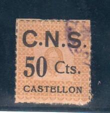 CASTELLON.  NO CATALOGADO.  50 CTS C.N.S