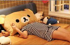 Rilakkuma Bear Plush Pillow Cushion Warm Pillows
