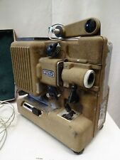 """Vintage Metal Bodied Eumig P8M 8Mm Cine Film Projector With Case Made Austria """""""