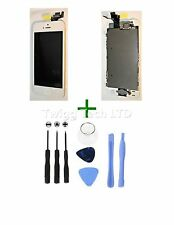 For iPhone 5S White LCD Screen Complete + Tools - With Parts Prefitted Apple