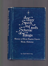 A Tiny Speck in God's Scheme of Things: Hist. of Brent Baptist Church Brent, AL