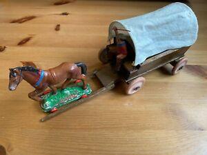DDR Indianer, Cowboy Planwagen, Kutsche von Lisanto