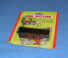 VINTAGE KEY CHAIN LINK  PUZZLE  - 1980'S - TAIWAN  - NOS