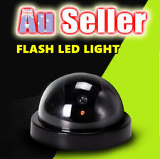 Fake CCTV Wireless Dome Dummy Camera Security Surveillance Flashing LED Light
