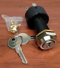 MARINE PLASTIC IGNITION STARTER SWITCH 5 TERMINALS 3 POSITIONS HEAVY DUTY OFF ON