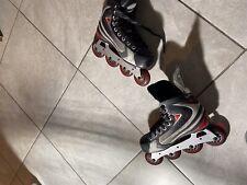 Nike Bauer XVR LiteVapor Roller Hockey Inline Skates Sz 5 R US 6 UK 5.5 EUR 38.5