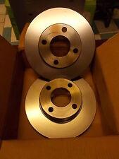 2 Disques de frein AUDI 80 100 186113 DDF048 DF1521