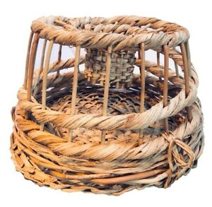 """Decorative Wicker Lobster Pot / Crab Trap 9"""" 12"""" or 18"""" - Fast Tracked Post!"""