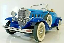 New ListingRare Blue Franklin Mint 1932 Chevy Roadster Confederate B11C371 1:24 Sj 42F