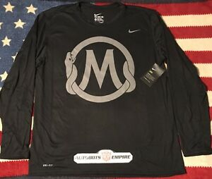 Vintage Nike Air Drifit KOBE MAMBA SPORTS ACADEMY Shirt XL Kb Lakers Max Ovo Pro