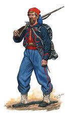 Mark Maritato Civil War Soldier 10th New York National Zouaves Signed Art Print