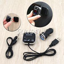 Voiture FM Transmetteur Bluetooth Magnétique Kit USB Chargeur SD MP3 Mains Libre