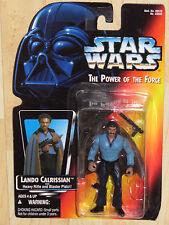 Star Wars POTF Ep V ESB Lando Calrissian w/ Heavy Rifle & Blaster Pistol NOSC