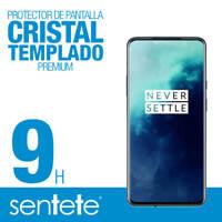 "Sentete® OnePlus 7T Pro ""3D CURVO FULL GLUE"" Protector Pantalla Cristal Templado"