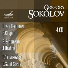 Grigory Sokolov - Plays Beethoven Chopin & More [New CD] Boxed Set