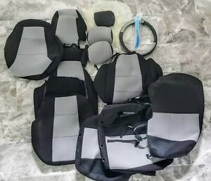 Coverking Neoprene Custom Seat Covers for 2007 Hyundai Tucson - FRONT AND BACK