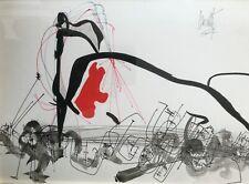 «Jazz» dessin original à la plume et au lavis de Raymond Moretti 1961