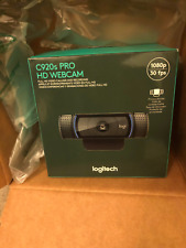 New Logitech C920s Pro HD 1080p Webcam with Privacy Shutter *FAST SHIP*