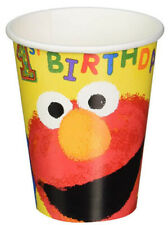 Sesame Street 1st birthday PAPER CUPS first party supplies 9oz 18pcs  Elmo Abby