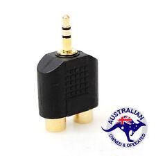 1 x AV RCA to 3.5 mm Audio jack Converter Adapter (059)