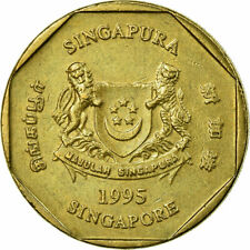 [#696300] Coin, Singapore, Dollar, 1995, Singapore Mint, EF(40-45)