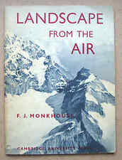 LANDSCAPE FROM THE AIR 1962 F J Monkhouse Cambridge University physical geog