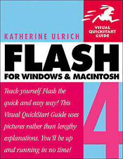 Flash 4 for Windows & Macintosh (Visual QuickStart Guides), Ulrich, Katherine |
