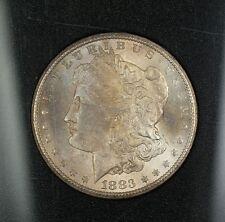 1883-CC GSA Morgan Silver Dollar $1 NGC MS-64 *Obverse Toned* w/ Box & COA
