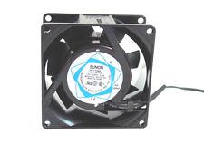 Sunon SF11580A-1083HBL, 80mm x 38mm Fan,AC 115V, Bare Wires