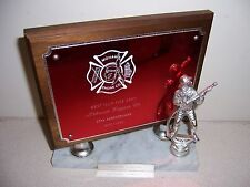 1955-1980 WEST ISLIP FIRE DEPT NY. MOHAWK ENGINE CO. 25th ANNIVERSARY TROPHY