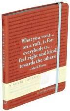 A Novel Journal: Adventures of Huckleberry Finn, Twain, Mark, New, Book