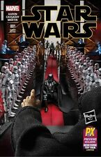 Marvel 2015 Star Wars #1 Hasbro Toy Fair Previews Exclusive Variant Cover Comic