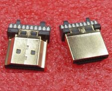 Connecteur HDMI Male plaqué Or 19 broches / Male Connector 19 pin gold plated