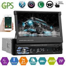 "7"" 1DIN Pantalla Táctil Bluetooth Car Estéreo GPS MP5 Player AM FM Radio USB AUX"