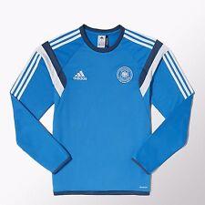 Adidas DFB Deutschland Training Shirt blau 2014 Germany - size M - Mercedes Benz